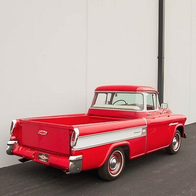 1955 Chevrolet Other Pickups Cameo Carrier Deluxe 1955 Chevrolet Cameo Carrier Deluxe, Recent Restoration, 350, Auto, Power, LOOK