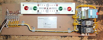 Electromecanical relays and OFF Delay timers Educational Trainer