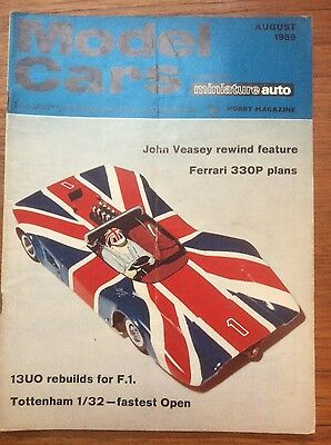 Model Cars Magazine - Scalextric - August 1969