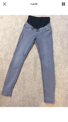 New Look Over The Bump Maternity Jeans Jegging Size 8