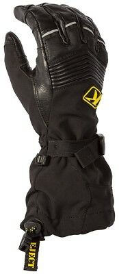 Klim Summit Snow Snowmobile Gloves (Pair) Black Adult All Sizes