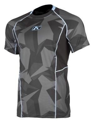 Klim Aggressor Cool -1.0 Base Layer Short Sleeve Shirt Camo Mens All Sizes