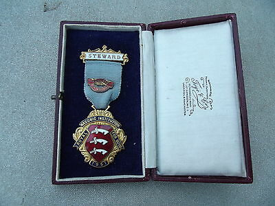 Province Of Essex Royal Masonic Institute For Boys Medal Dated 1951