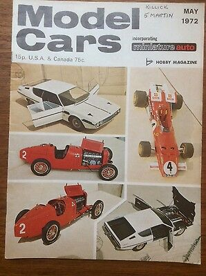 Model Cars Magazine - Scalextric - May 1972