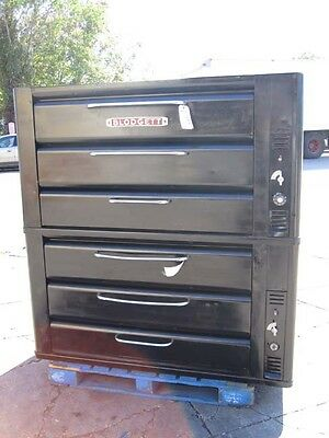 Blodgett 981 Double Deck Oven Gas Used Very Good Condition