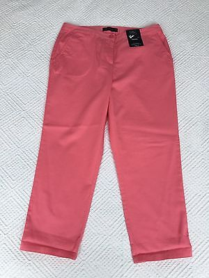 Ladies Marks & Spencer Cropped Trousers Size 10 Short Bnwt