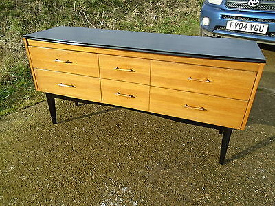 Retro Sideboard Danish / G-Plan Style  Upcycled Delivery Available.