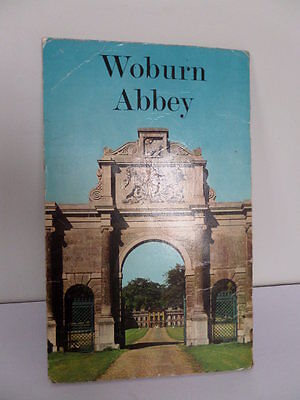 1960's Woburn Abbey Guide Signed by the 13th Duke of Bedford