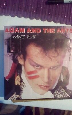 Adam and the ants.Ant Rap.rare advent sleeve.vinyl.punk