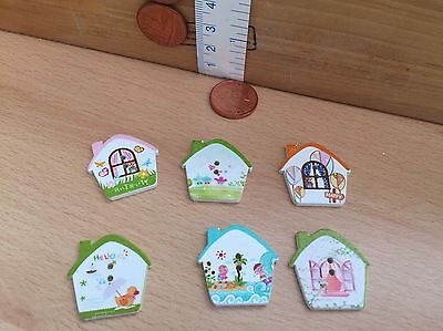 House Cute Wooden Buttons Scrapbooking Craft Embellishments For Housewarming