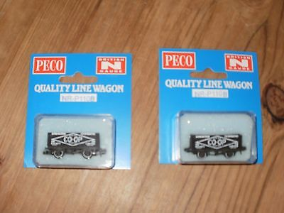 N Gauge 2 Peco Co Op Wagons New In Box