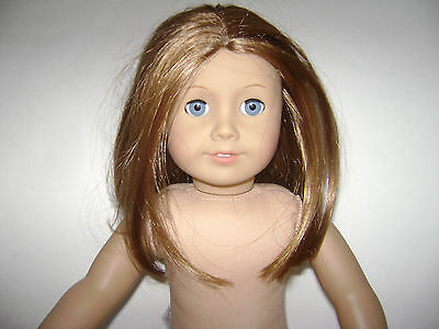 """AMERICAN GIRL DOLL 18"""" Historical Girl EMILY friend of MOLLY RETIRED NUDE EUC"""