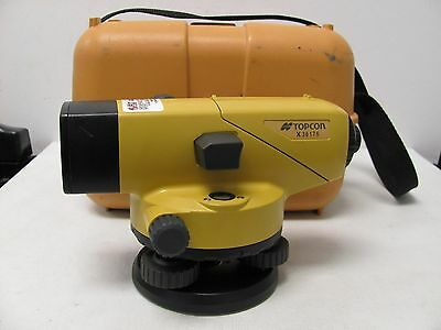 Topcon AT-B4 Automatic Auto Sight Level 24x Magnification with Case