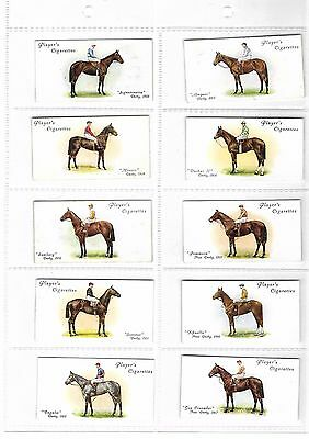 Players - Derby & Grand National Winners  - Full Set - 1933 - Very Good