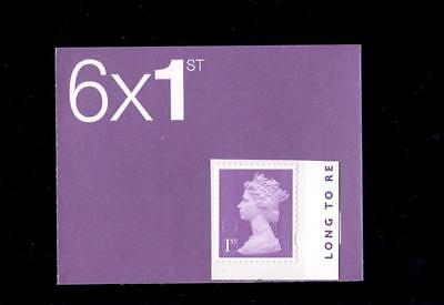 Great Britain 2015 Long To Reign Over Us Booklet Stamp  Unmounted Mint,mnh