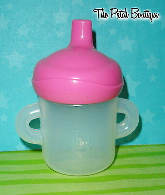 Genuine Hasbro Baby Alive Drink & Wet Doll Replacement Sippy Cup Bottle #3