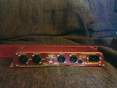 Sonifex RB-MA2 Dual Microphone Amplifier (RRP £299)