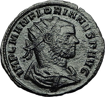 FLORIAN Rare 88 day Emperor 276AD Authentic Ancient Roman Coin Concord i59178