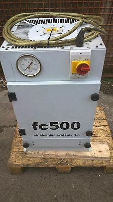 fume extractor   fc 500 air system