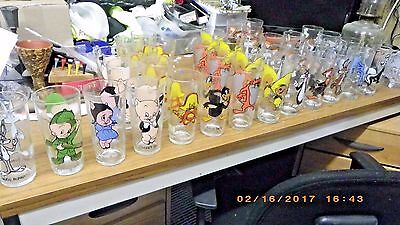 Vintage 1973 Collector Series Looney Tunes drinking glasses CHOICE OF 3