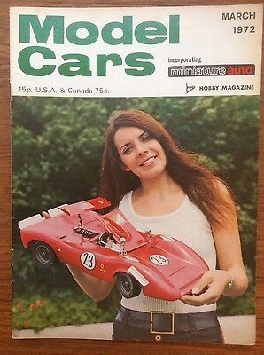 Model Cars Magazine - Scalextric - March 1972