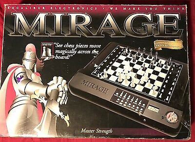 *NEW* Excalibur Mirage Self-Moving Chessboard