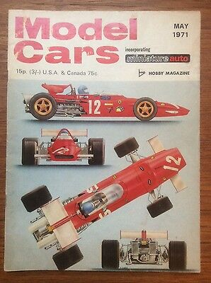 Model Cars Magazine - Scalextric - May 1971
