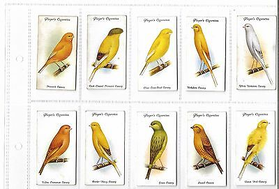 Players - Aviary And Cage Birds  - Full Set - 1933 - Good To Very Good