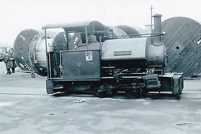 "Steam Railway Photo - 0-4-0 Saddle Tank ""sir Tom"" - British Electricity?"