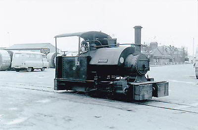 "Steam Railway Photo - 0-4-0 Saddle Tank ""woto"" - British Electricity?"