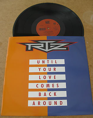 Rtz - Until Your Love Comes Back Around 4 Track Uk Ep 1991 Mint Minus