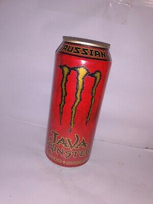 Set of 4 - 2007 Java Monster Energy 15 oz Cans - Supplement - Full, Sealed RARE