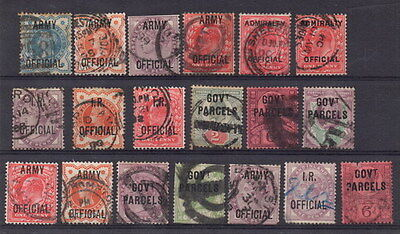 Stamps Great Britain officials used