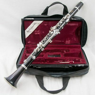Buffet Crampon R13 Professional Wood Clarinet, Fabulous Condition, + New Pads!