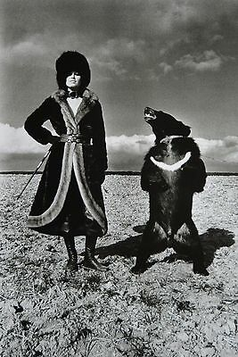 Helmut Newton Sumo Photo Print 50x70 Fashion Tigre Royal French Vogue 1969 Bear