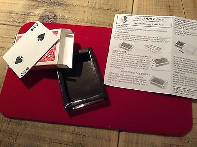 Collectible Conjuring Tricks & Props. Disappearing Card Case