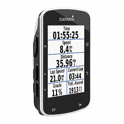 Garmin Edge 520 ANT+ & Strava Connected Bike Mount Cycling GPS Training Computer