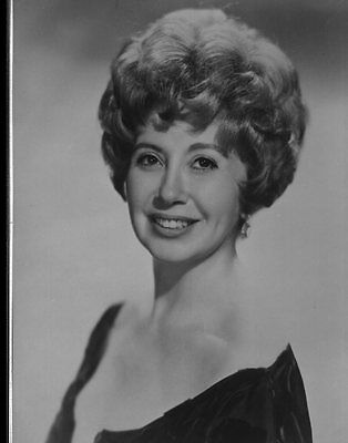 """#D105 VINTAGE 1950S 8X10"""" CLASSICAL OPERA NEGATIVE PUBLICITY PHOTO Beverly Sills"""