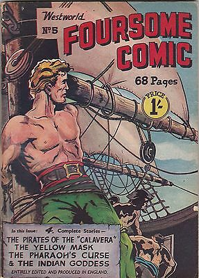 Westworld Foursome Comics Number 8.  Scarce Uk Comic .68 Pages . Miller