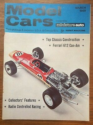 Model Cars Magazine - Scalextric - March 1969