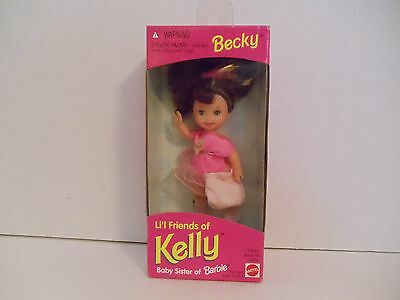 Becky Li'l Friends of Kelly Baby Sister of Barbie NRFB NEW