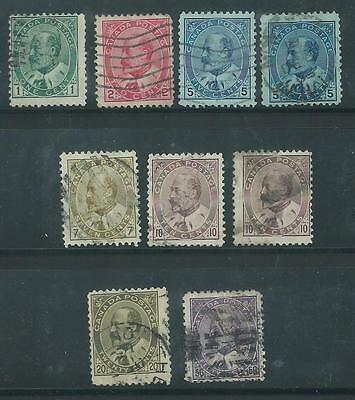 CANADA 1903 set to 50c SG 173-187 Scott 89-95 SG cv £170
