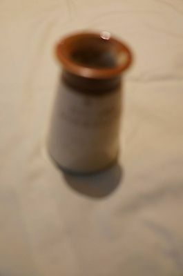 Antique stoneware cream pot