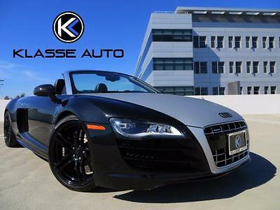 2011 Audi R8 Spyder Convertible 2-Door 2011 Audi R8 5.2 Quattro Spyder 6 Speed Manual Convertible Custom Wrap Ca Car