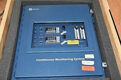 Interscan LD217 Two Point Continuous Gas Monitoring System Sulfur Dioxide SO2
