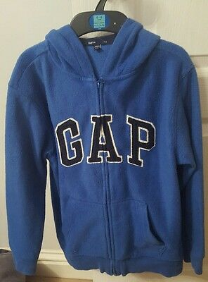Boys GAP blue Hoody aged 11 Years