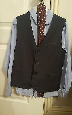 Boys Shirt, tie and waistcoat from Next age 12 Years