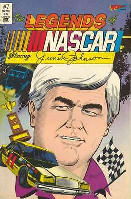 Legends of NASCAR #7 in Very Fine + condition. FREE bag/board