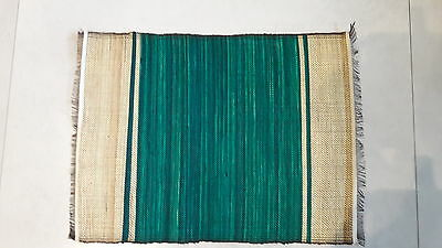 Dining Placemats And Table Runner Bundle Green New