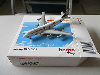 Herpa Wings 516020 Lufthansa Cargo  747-200F  Version 1